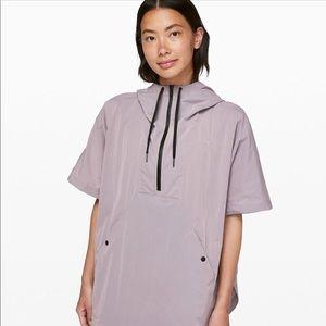 Lululemon poncho rain coat